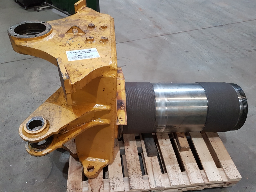 laser cladding caterpillar equipment